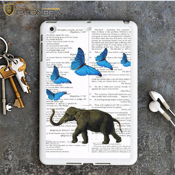 Elephant And Butterflies iPad Mini Case iPhonefy