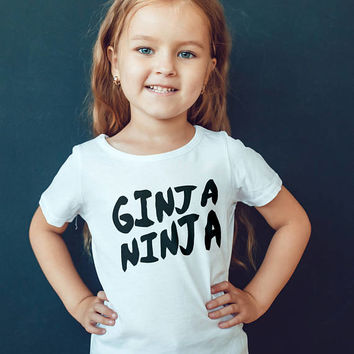 Ed Sheeran T-shirt - Ginger Tshirt - Ginja Ninja -Ed Sheeran Child Shirts