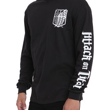 Attack On Titan Scouting Legion Long-Sleeved T-Shirt