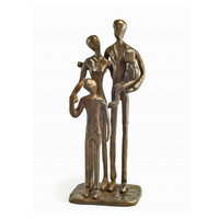 Family of Four Bronze by Danya B