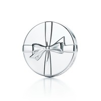 Tiffany & Co. -  Tiffany Bows purse mirror in sterling silver.