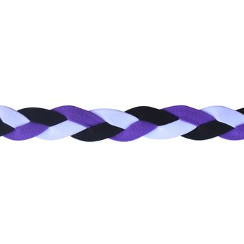 Soccer No Slip Grip Headband-Purple