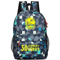 Kayisamo Stephen Curry Cosplay Basketball Fans Bookbag Backpack School Bag
