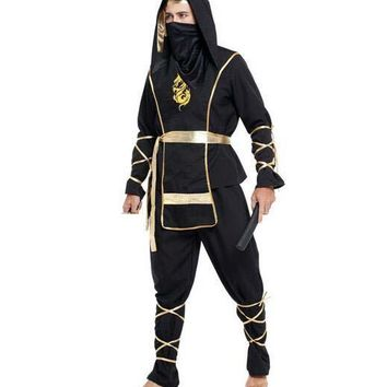 Men Japanese ninja costumes adult halloween cosplay disfraces adultos party cosplay CO82266288