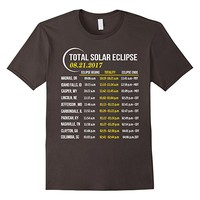 Total Solar Eclipse 2017 Shirt - When, Where To See