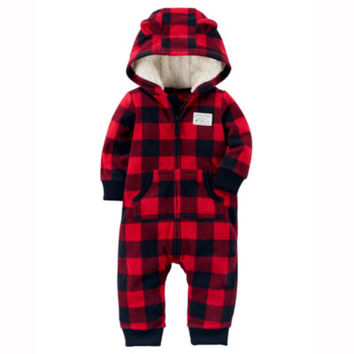 Carter's Long Sleeve Jumpsuit - Baby - JCPenney