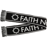 Faith No More Men's Knit Black Neck Ties & Scarves Black
