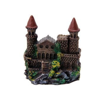 Upgrade the Look of Your Aquarium With a Polyresin Castle Ornament