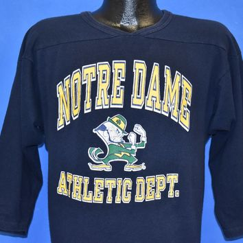 9fe46d1bb 80s Notre Dame Fighting Irish Athletic Dept t-shirt Large