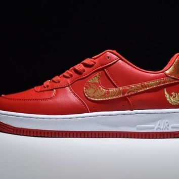 Nike Air Force 1 One Low Premium Lunar New Year Id Running Sport Casual Shoes Phoenix 919729 992 Sneakers
