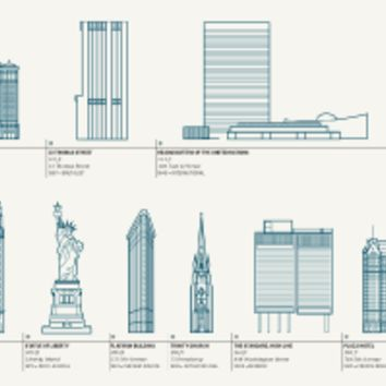 Splendid Structures of New York City