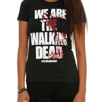 The Walking Dead We Are Girls T-Shirt