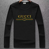 Boys & Men Gucci Fashion Casual Long Sleeve Shirt Top Tee