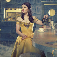 Belles yellow dress, once upon a time