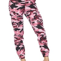 Jane of the Jungle Camo Pants Pink