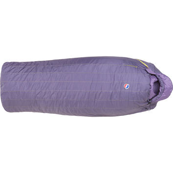 Big Agnes Slavonia Sleeping Bag: 30 Degree Synthetic - Women's Dark Purple,