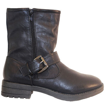 MIA Jania - Black Engineer Boot