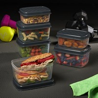 Jaxx FitPak Meal Prep Portion Control Replacement Containers