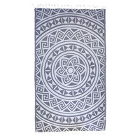 Boho Mandala Beach Towel
