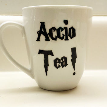 Accio Tea Harry Potter 12 oz mug