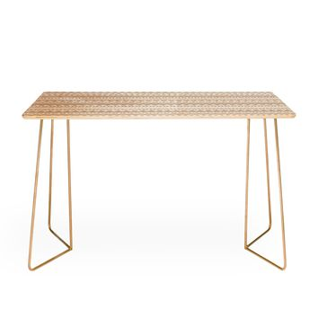 Allyson Johnson Tan Aztec Desk