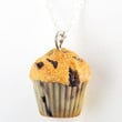blueberry muffin necklace