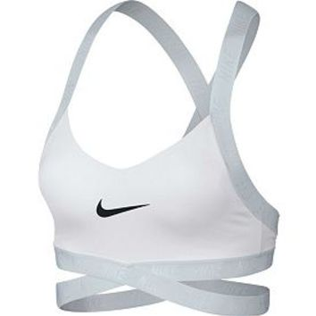 Nike Women's Dri-FIT Indy Logo Sports Bra | DICK'S Sporting GoodsProposition 65 warning iconProposition 65 warning icon