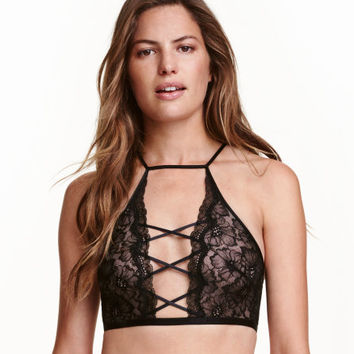 Lace Bralette - from H&M