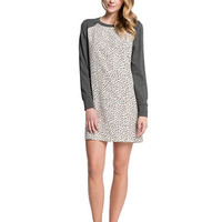 Cece By Cynthia Steffe Manhattan Printed Raglan Dress