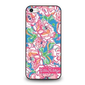 lilly pulitzer charms iphone se case cover  number 1