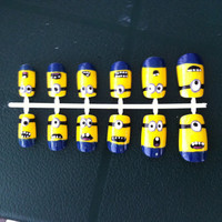 Despicable Me Style False Nails