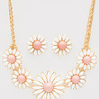 Driving Miss Daisy Necklace Set - Pink - One