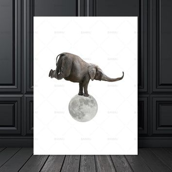 Wall art Picture wall painting art canvas Picture decor poster canvas painting animals art print on canvas Wall Picture no frame
