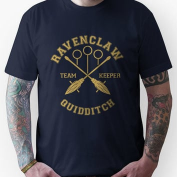 Quidditch - Ravenclaw - Team Keeper Unisex T-Shirt