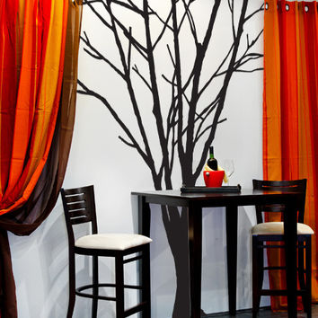 Vinyl Wall Decal Sticker Leafless Tree #MCrespo111