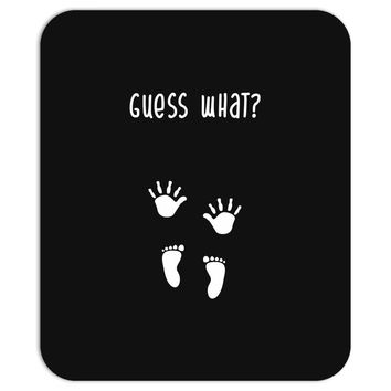 Guess What Baby Inside Pregnancy Announcement Mousepad