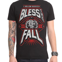 Blessthefall Hollow Bodies Slim-Fit T-Shirt