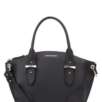 ALEXANDER MCQUEEN Small Legend textured shoulder bag