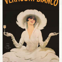 Martini and Rossi Vermouth Bianco Poster 24x36