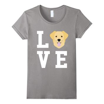 I Love My Dog Golden Retriever Lover T-Shirt