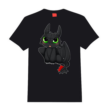 Toothless t-shirt - How to train your dragon