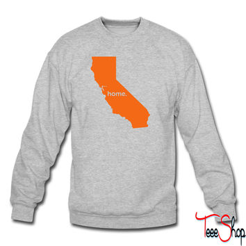 california home crewneck sweatshirt