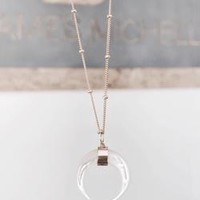 Pearl Crescent Necklace