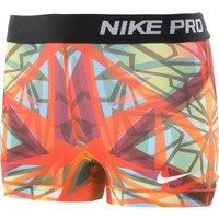 "Nike Women's Pro Core Kaleidoscope 3"" Printed Compression Shorts"