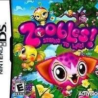 Zoobles! Spring to Life! [Bundle] (Nintendo DS, 2011)