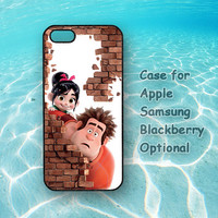 Wreck It Ralph, iphone 5 case, iphone 4 case, ipod 4 case, ipod 5, Samsung note 2, Samsung galaxy S3, Samsung galaxy S4, blackberry z10, q10