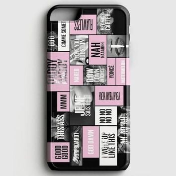 Beyonce Collage iPhone 6 Plus/6S Plus Case