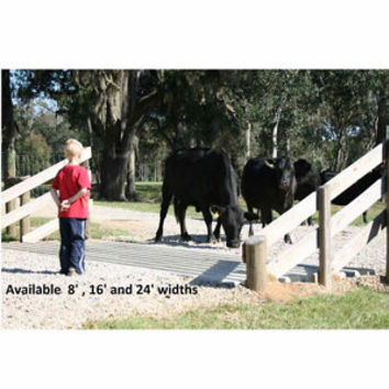 Texan Cattle Guard Forms, 8 ft., 16 ft., & 24 ft. - For Life Out Here