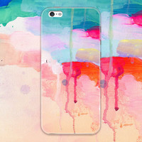New Tie-dyed Case Personal Tailor Cover for iPhone 7 7 Plus & iPhone 5s se 6 6s Plus + Gift Box-467