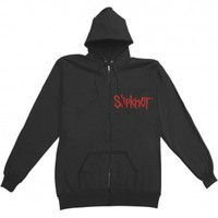 Slipknot Skull Teeth Zippered Hooded Sweatshirt - Slipknot - S - Artists/Groups - Rockabilia